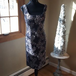 Cocktail evening dress